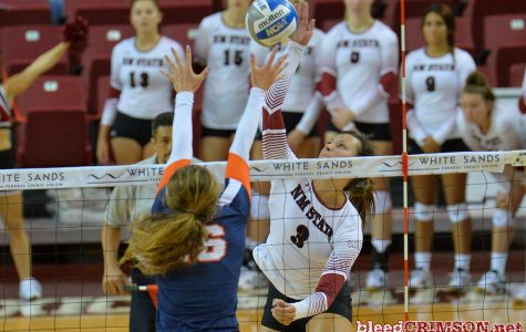 Jordan Abalos helping keep NMSU volleyball as the class of the WAC