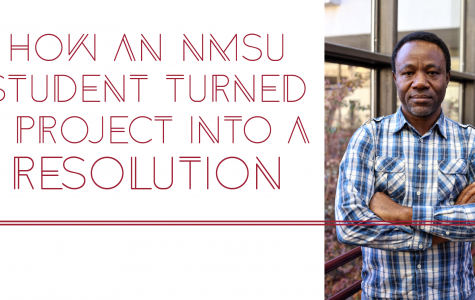 How An NMSU Student Turned a Project Into a Resolution