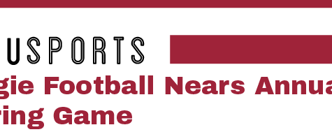 Aggie Football Nears Annual Spring Game