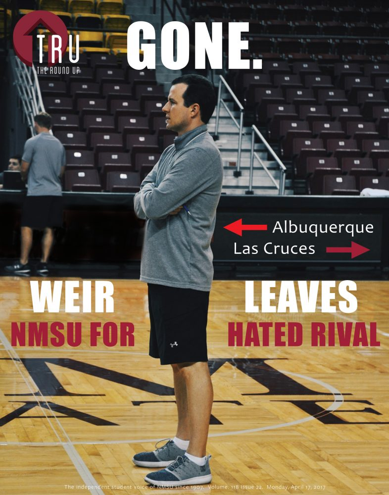 Paul Weir departs for UNM