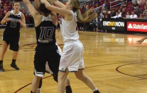 Atkinson, Aggies come up short in women's basketball season opener