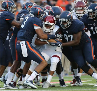 Aggies Struggle without Rose, Lose Season Opener to Miners