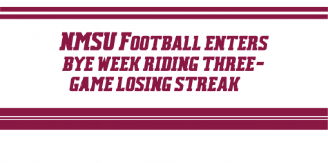 NMSU Football Enters Bye Week Riding Three-Game Losing Streak