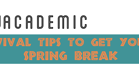 Survival Tips to Get You to Spring Break