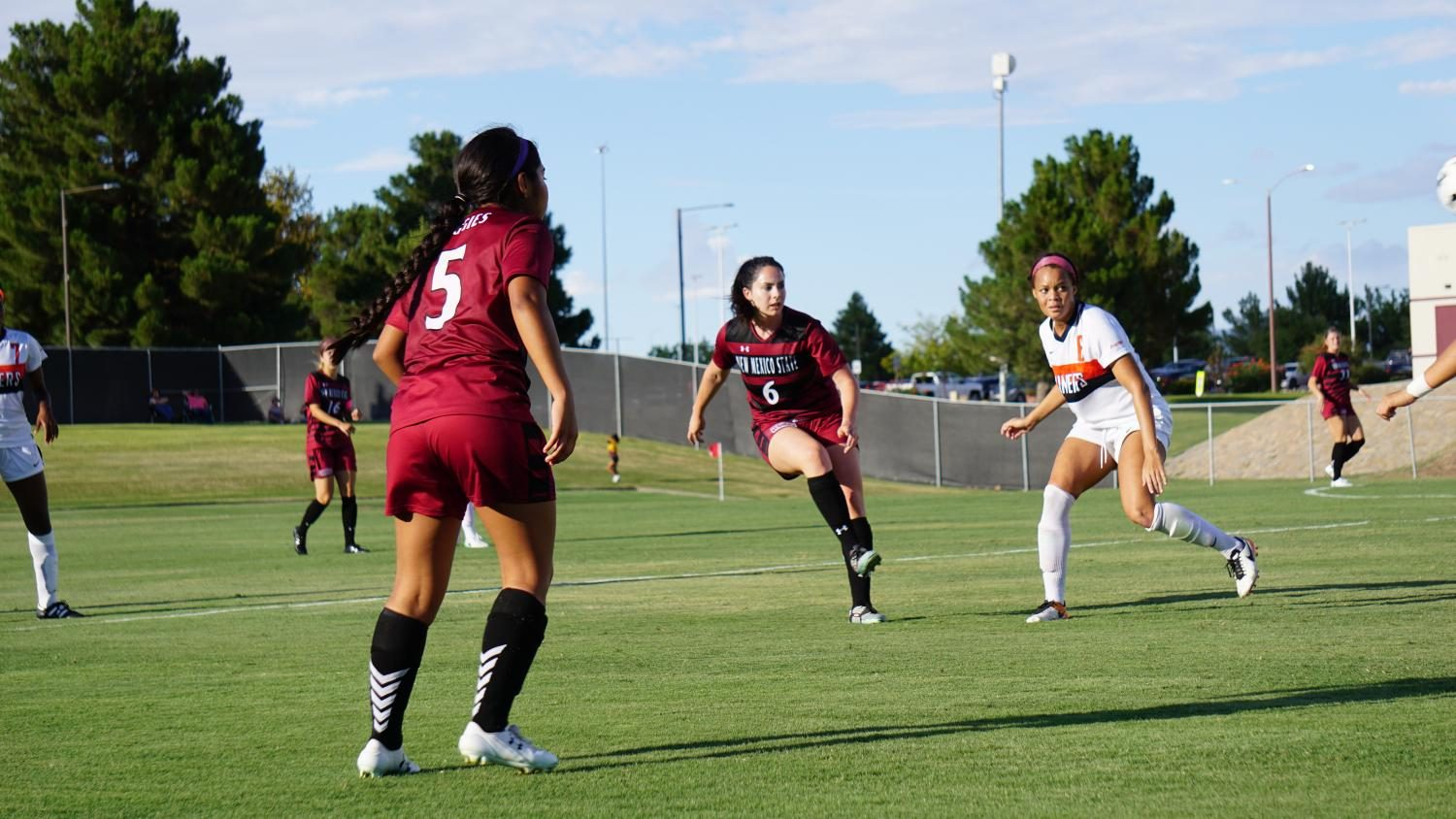 NMSU Soccer Scores Dramatic First Win Vs. UTEP