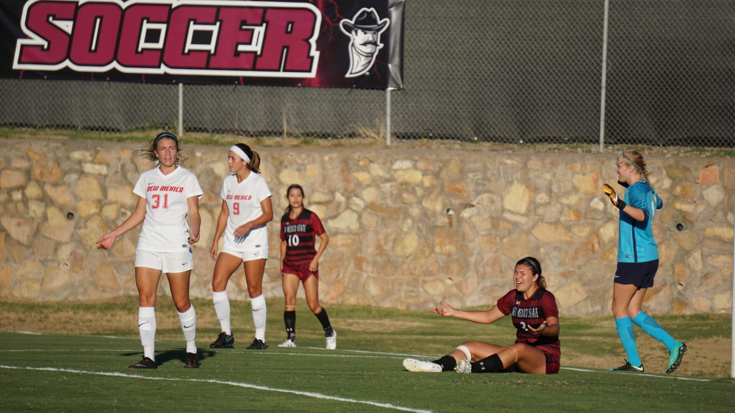 Despite one of the best seasons in program history, NMSU soccer falls in the first round of the WAC tournament.