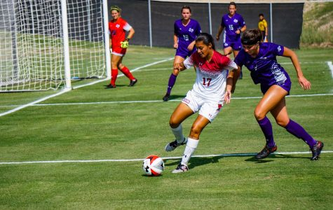 Aggie Soccer Falls to Lumberjacks at Home