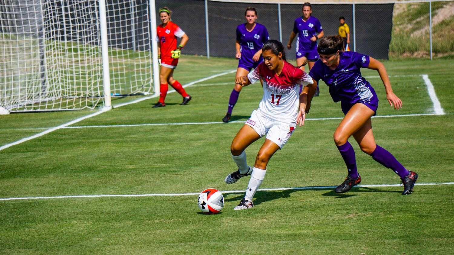 NMSU fell to Stephen F. Austin 1-0 Friday afternoon at the Soccer Complex.