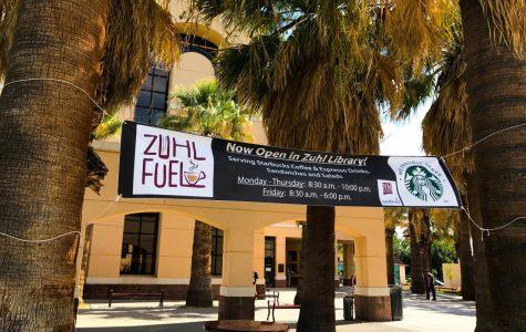 Starbucks Opens its Doors Inside of Zuhl Library