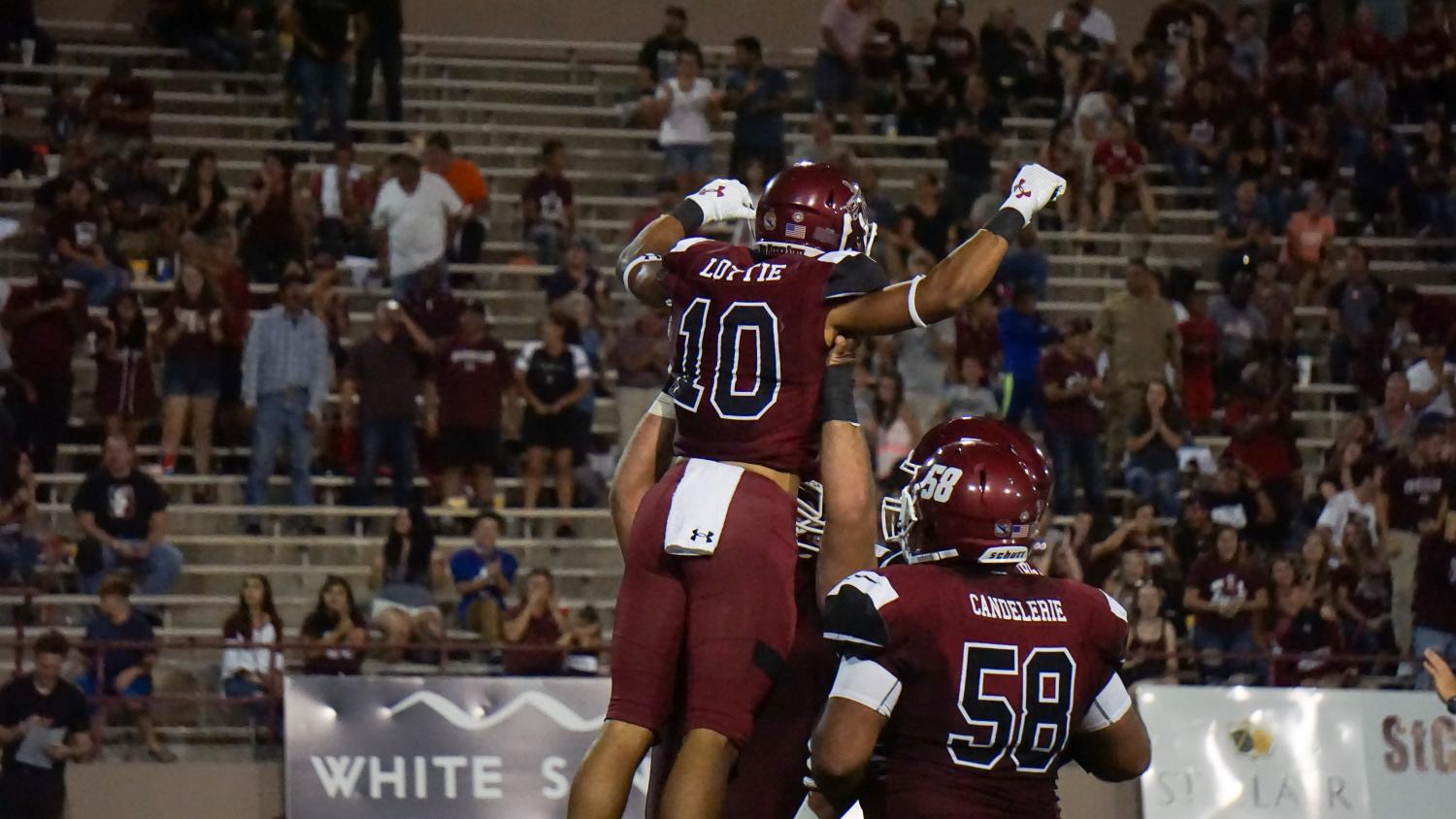 NMSU sacks Idaho 11 times en route to a season saving victory, keeping their bowl hopes alive.