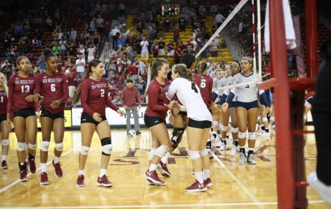 NMSU Volleyball Collects Back-to-Back Home Wins