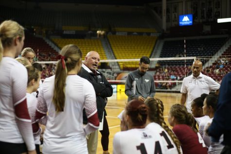 Aggie head coach Mike Jordan