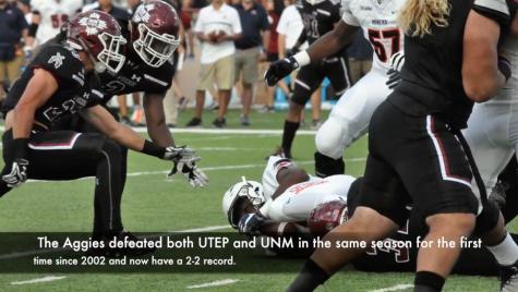 Video: NMSU Football Defeats Rival UTEP
