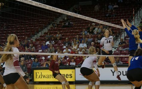 Players continue to step up as Volleyball sweeps CSU Bakersfield
