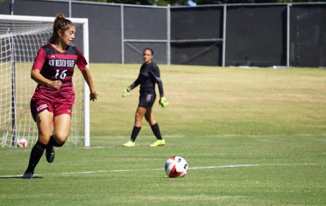 Aggie Soccer drops final home game against UMKC