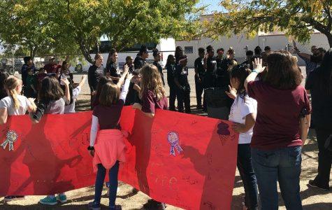 NMSU Women's Basketball Spends Day at Local Catholic School