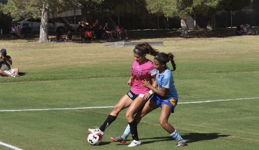 NMSU Soccer ties in another home thriller