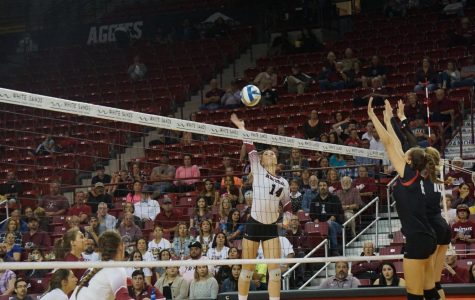 NMSU Volleyball Tops Off Senior Day With a Win