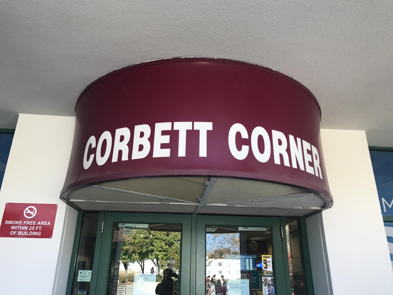 The Corbett Corner convenience store located inside Corbett Center.