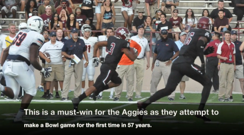 Video: NM State Football Looks to Make History