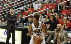 NMSU vs UNM Women's Basketball Photo Gallery