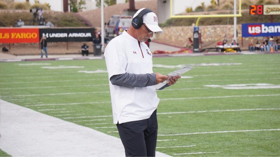 NMSU+locks+up+head+football+coach+Doug+Martin+for+at+least+four+more+years+with+new+contract+extension+days+before+the+start+of+fall+camp.