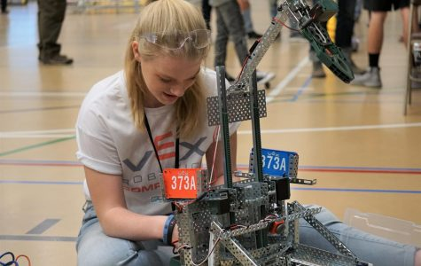 VEX Robotics Competition State Championship challenges New Mexico students