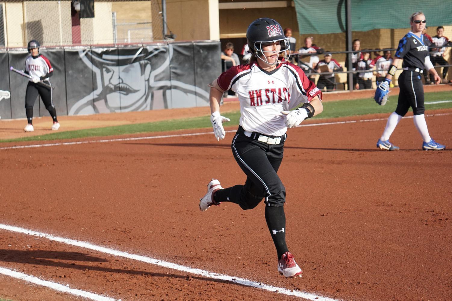 NMSU loses series finale after pulling off back-to-back upsets against nationally-ranked Kentucky to start the year.