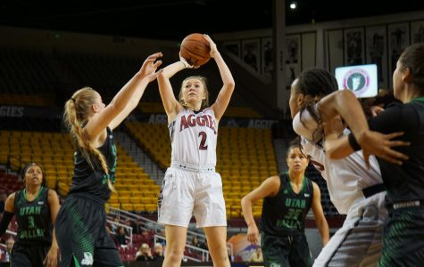 NMSU Women's Basketball Vs. Utah Valley Photo Gallery
