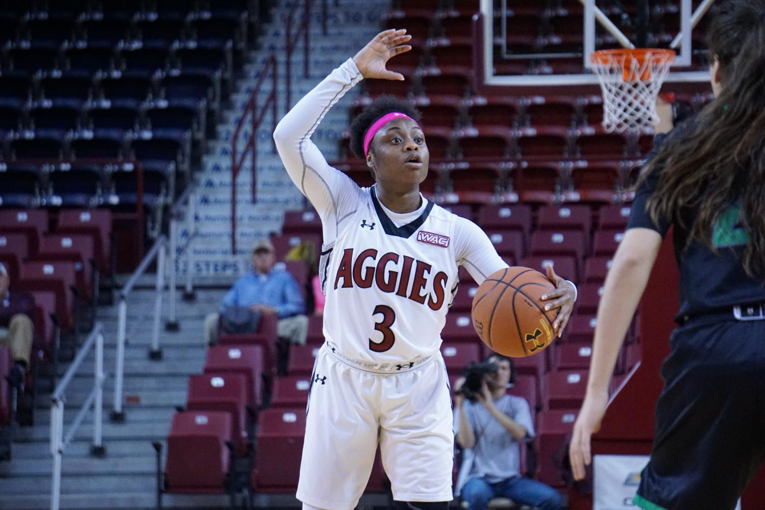 NMSU wins both matchups in their two-game home stint, improving their WAC record to 8-3.