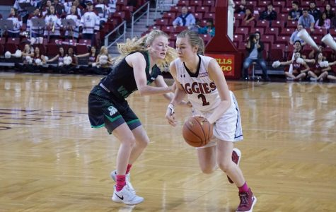 Aggie women right the ship against Utah Valley