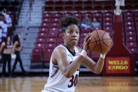 Aggies take care of business in opening round of WAC Tournament