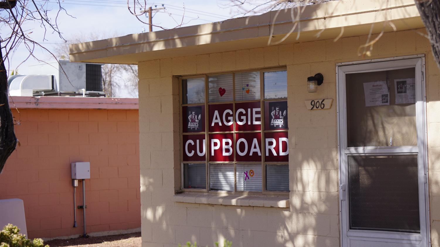 The Aggie Cupboard Building.