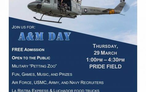 NMSU Air Force ROTC hosts first-annual A&M day