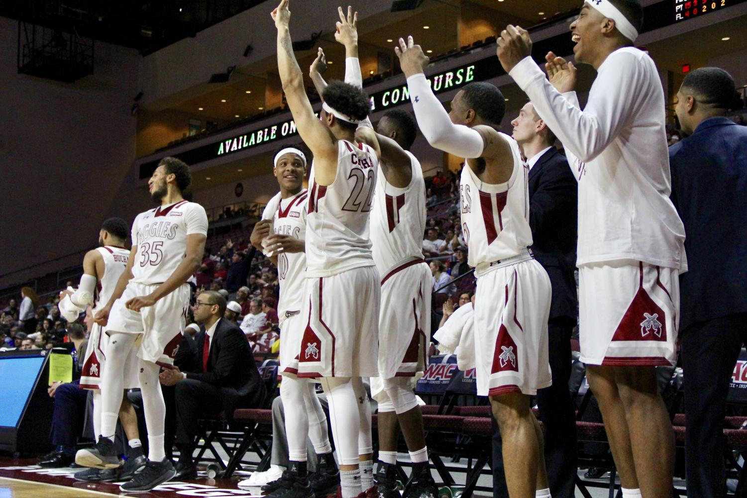 New Mexico State defeated GCU 72-58 winning the WAC tournament championship.