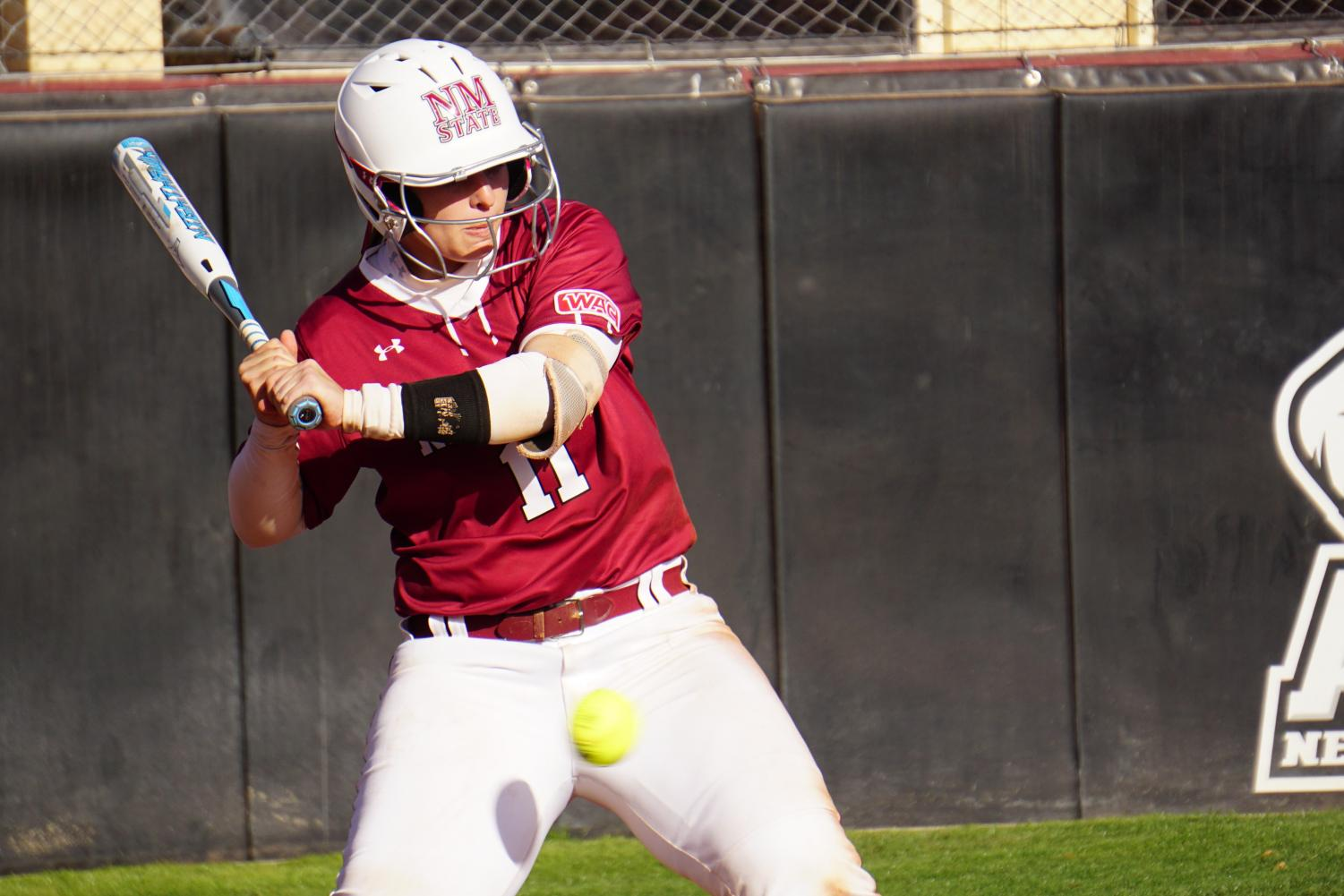 Kelsey Horton hits three home runs in Saturday's doubleheader victory over Seattle.