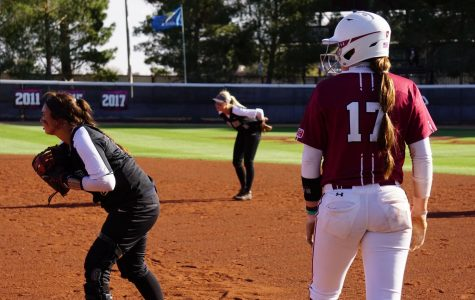 NMSU Softball vs. UTEP Battle of I-10 Photo Gallery