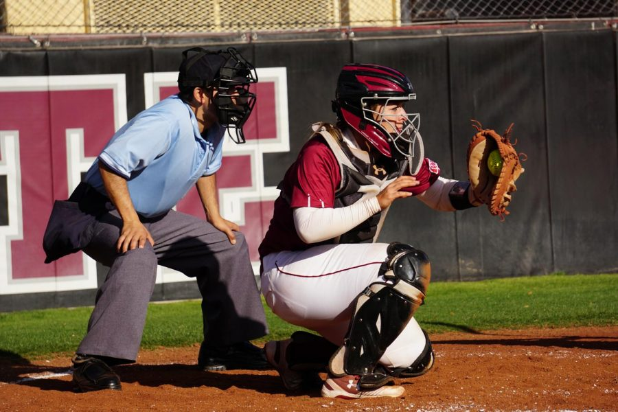 Nikki Butler hits what ends up being the game-winning home run against UNM and the win-sealing three-run double against UTEP to ensure a 3-0 start to NM State's season.