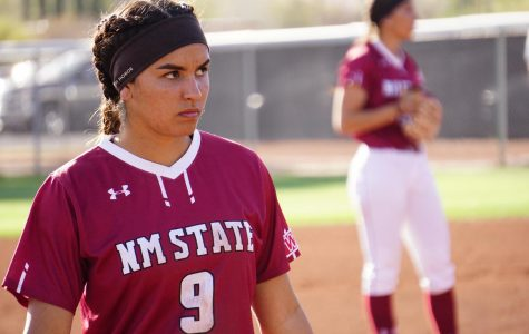 New Mexico State Softball struggles to keep up with UNM