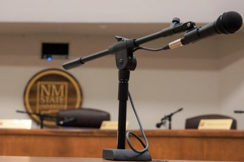 NMSU Board of Regents chambers at New Mexico State University, image taken March 6, 2018.