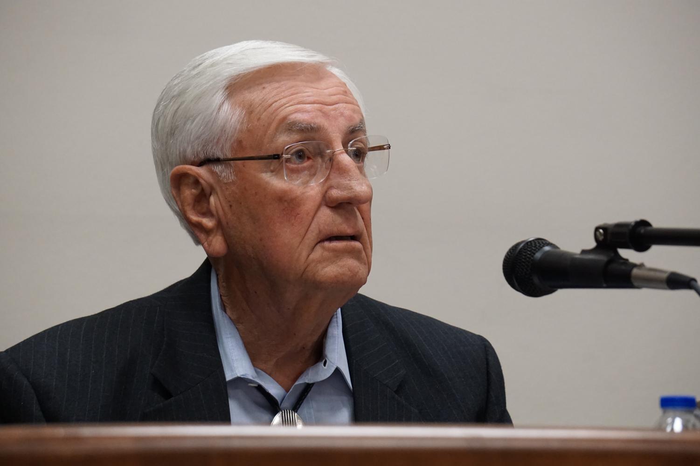 Former NMSU Chancellor Garrey Carruthers.