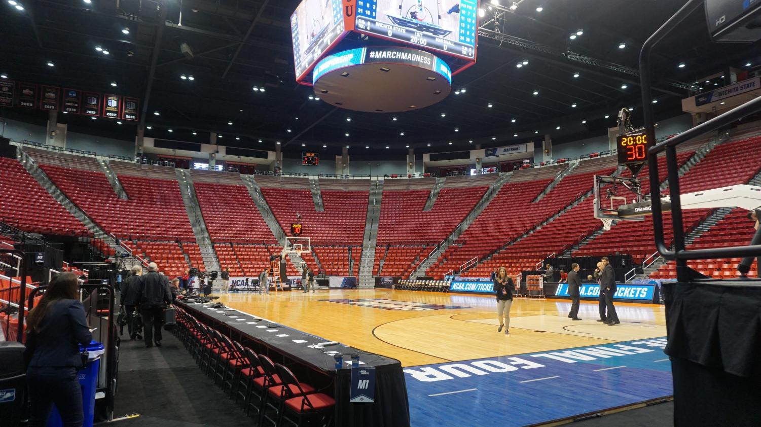 No. 12 New Mexico State vs. No. 5 Clemson will tipoff at 7:57 MT on TruTV.