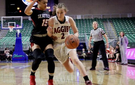 Women Aggies fall to Seattle U in WAC semifinal game