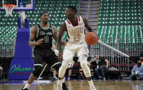 New Mexico State takes care of business, advances to WAC tournament semifinals