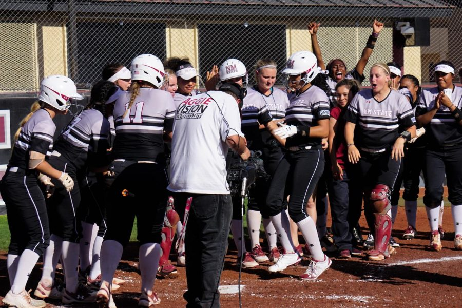 NMSU+extends+their+conference+win+streak+to+six+with+back-to-back+shutout+wins+over+CSU+Bakersfield+Saturday+night.