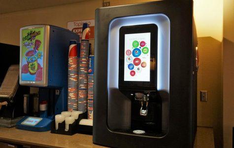 NMSU unveils new Pepsi Spire machine