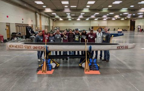 NMSU's Concrete Canoe Team head to nationals after win at regional competition