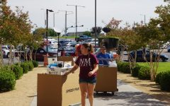 Students begin moving back into residential halls at NMSU