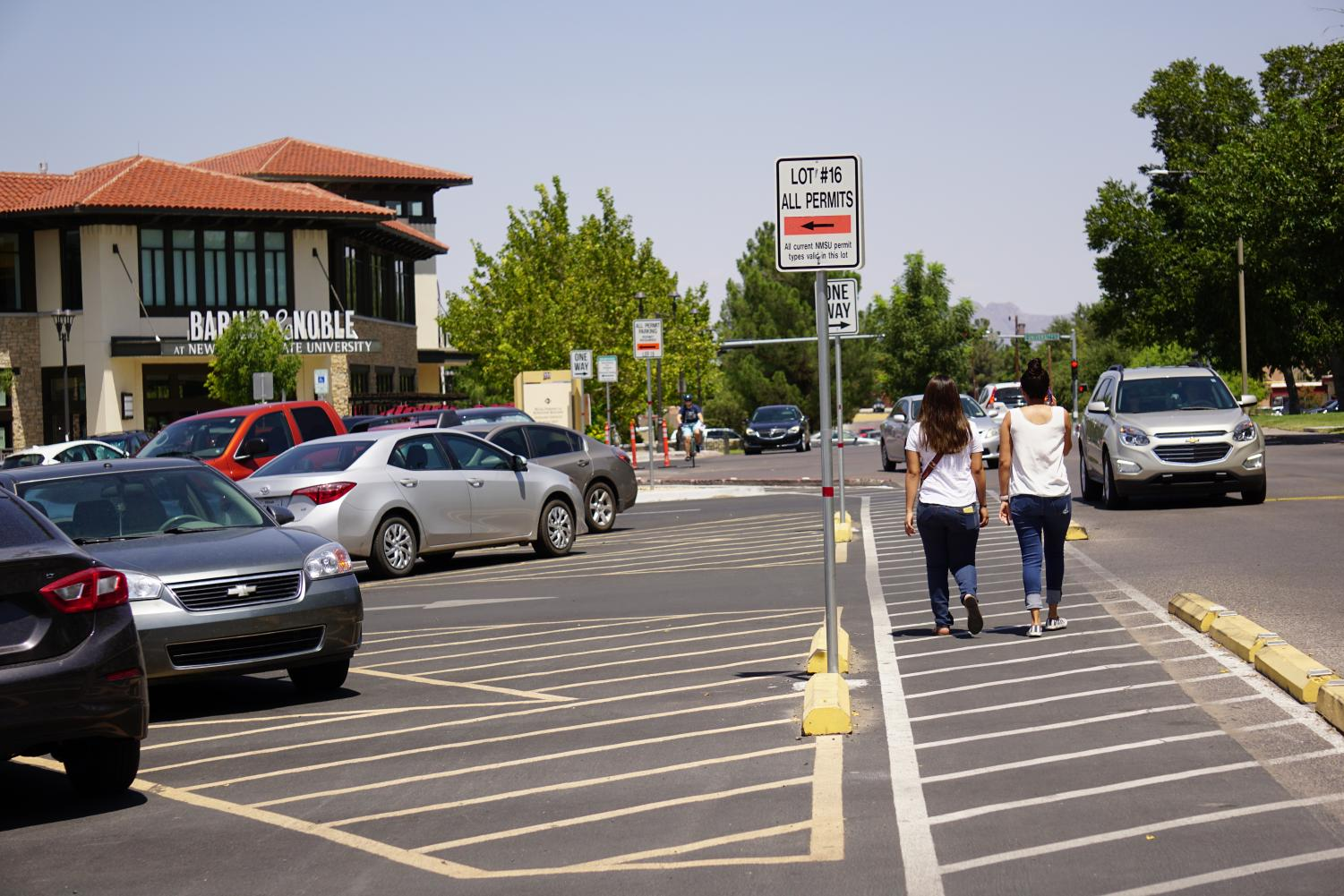 NMSU's Parking Department sold more permits in 2017-18 than parking spots available on campus.