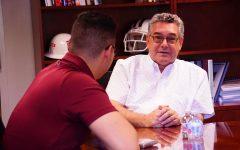 Floros addresses fragile NMSU scholarship situation